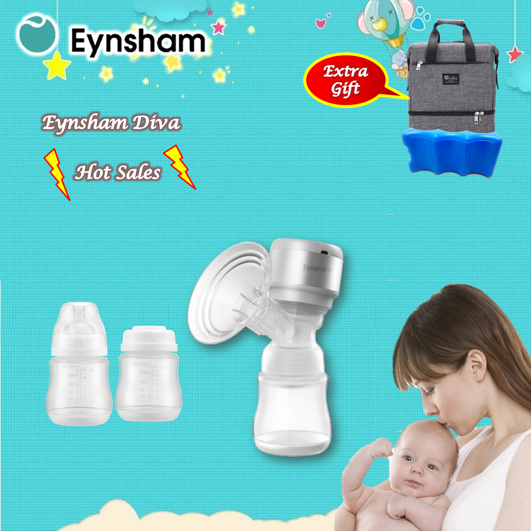 Eynsham Diva 1 Rechargeable Single All in one Wireless Breast Pump (No Tube)