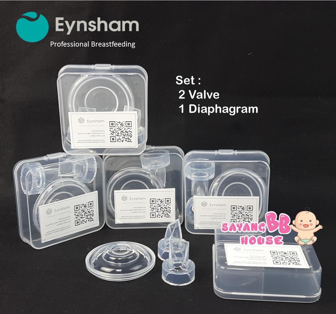 Eynsham Breast Pump Accessories Set For  Easi Cup / Easio Cup 1pcs Diaphagram, 2pcs Valve