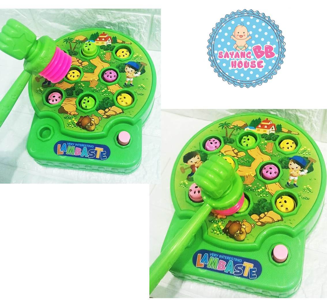 Funny Electric Music Playing Hamster Game Machine For Kids To Learning While Playing