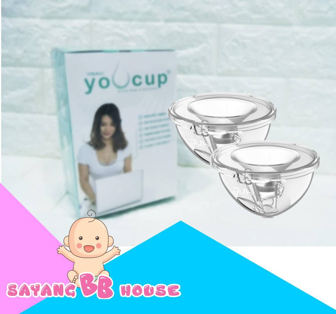 Youha Electric Single Breast Pump Dainty Two in One + Youcup hand-Free