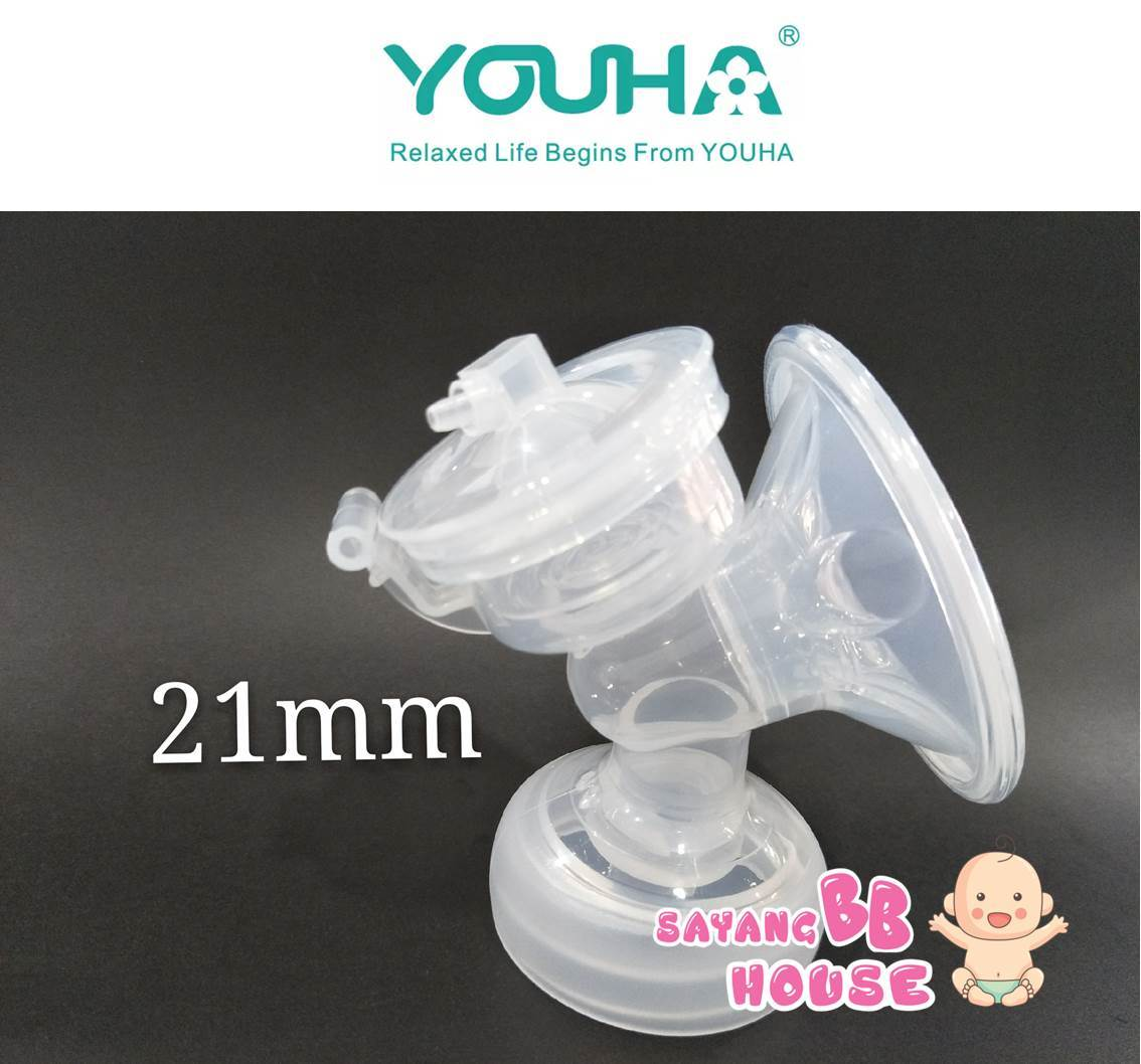 Avent , Real Bubee, Youha, Autumz Breast Pump Standard Pump Body Wide Neck 1set 21mm
