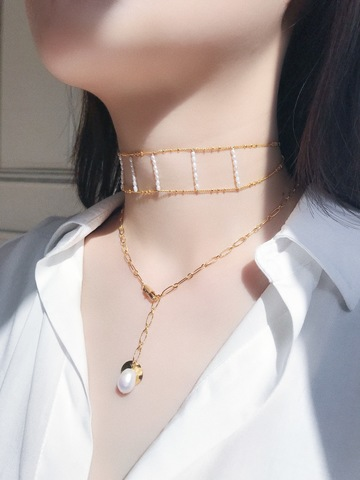 LESIS_Double Hollow Pearl Choker_05.jpg