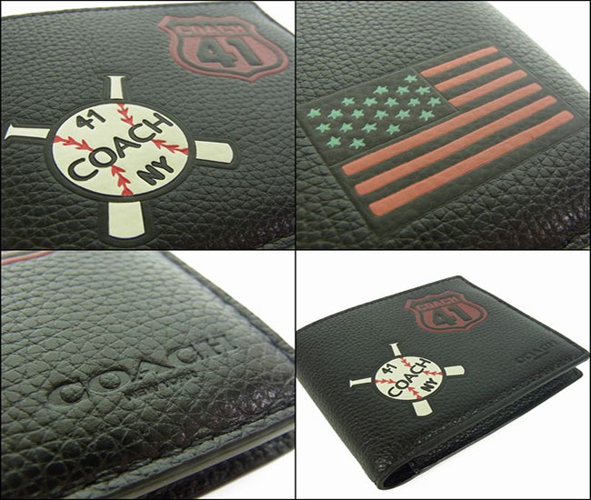 COACH 3-IN-1 WALLET WITH MOTIF MIXED PATCHES
