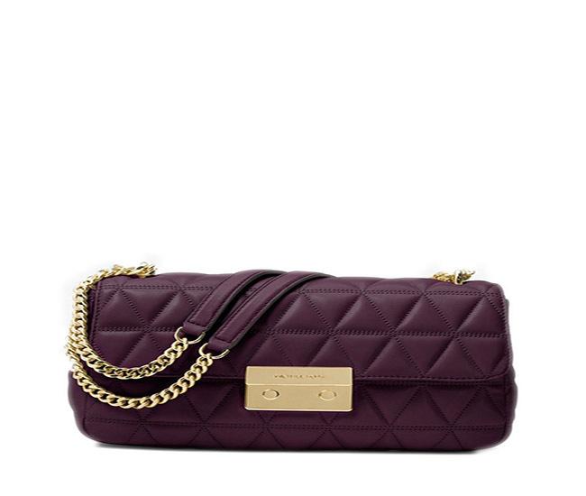 aff2af435f41 Michael Kors Sloan Large Quilted-Leather Shoulder Bag