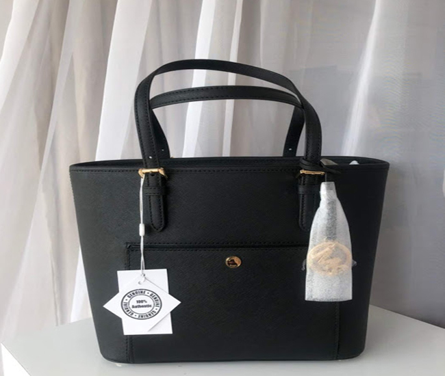 233e50a9d64548 MICHAEL KORS JET SET MD TOP ZIP TOTE 38H8GTTT2L