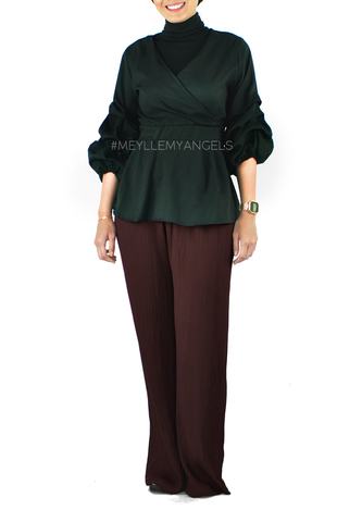 Lily Pleated Pants Brown a.jpg