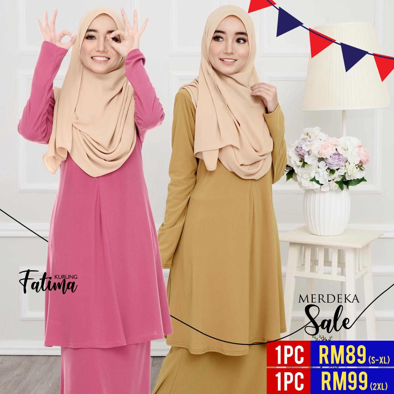 kurung-plain-ironless-cutting-loose-labuh