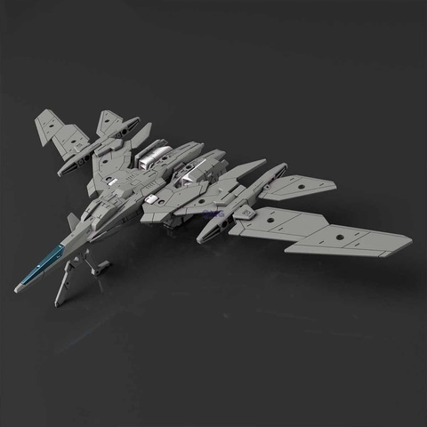 Bandai 30MM Extended Armament Vehicle (Air Fighter Ver.) [Gray] 1.0.jpg