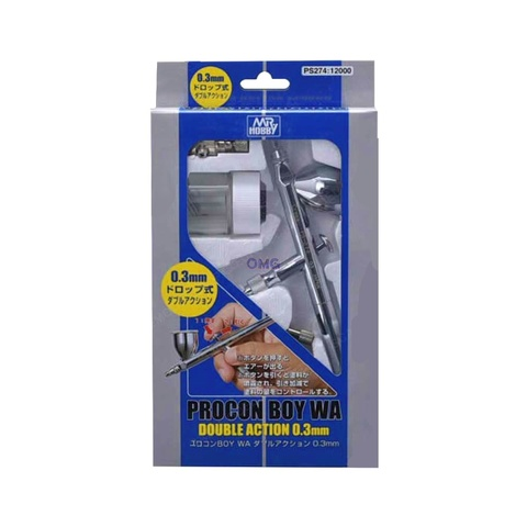 Mr Hobby Airbrush Mr Procon Boy WA Double Action Type (0.3mm)PS-274 1.0.jpg
