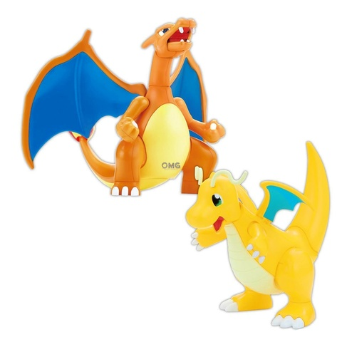 Bandai Pokemon PLAMO COLLECTION 43 CHARIZARD BATTLEVer. & DRAGONITE VS SET 1.0.jpg