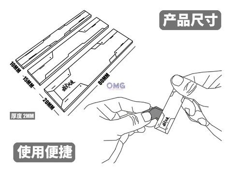 Tool MS010 Sanding Block 3 in 1  with Grit Sticker (White) 1.1.jpg