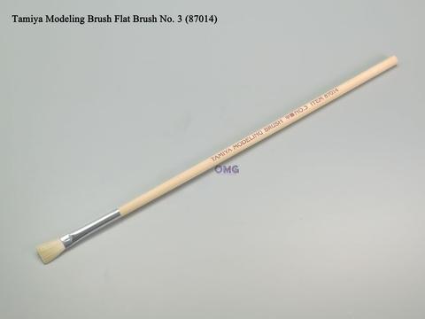 Tamiya Modeling Brush Flat Brush No. 3 87014 1.0.jpg