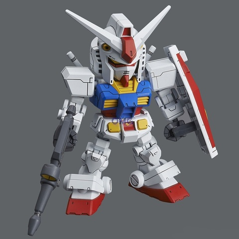 SD Gundam Cross Silhouette RX-78-2 & Cross Silhouette Frame Set 1.1.jpg