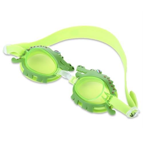 MYSTYLE ADJUSTABLE KID UV-RESISTANT ANTI-FOG SWIMMING GOGGLES OUTDOOR SPORT EYEGLASSES (GREEN)