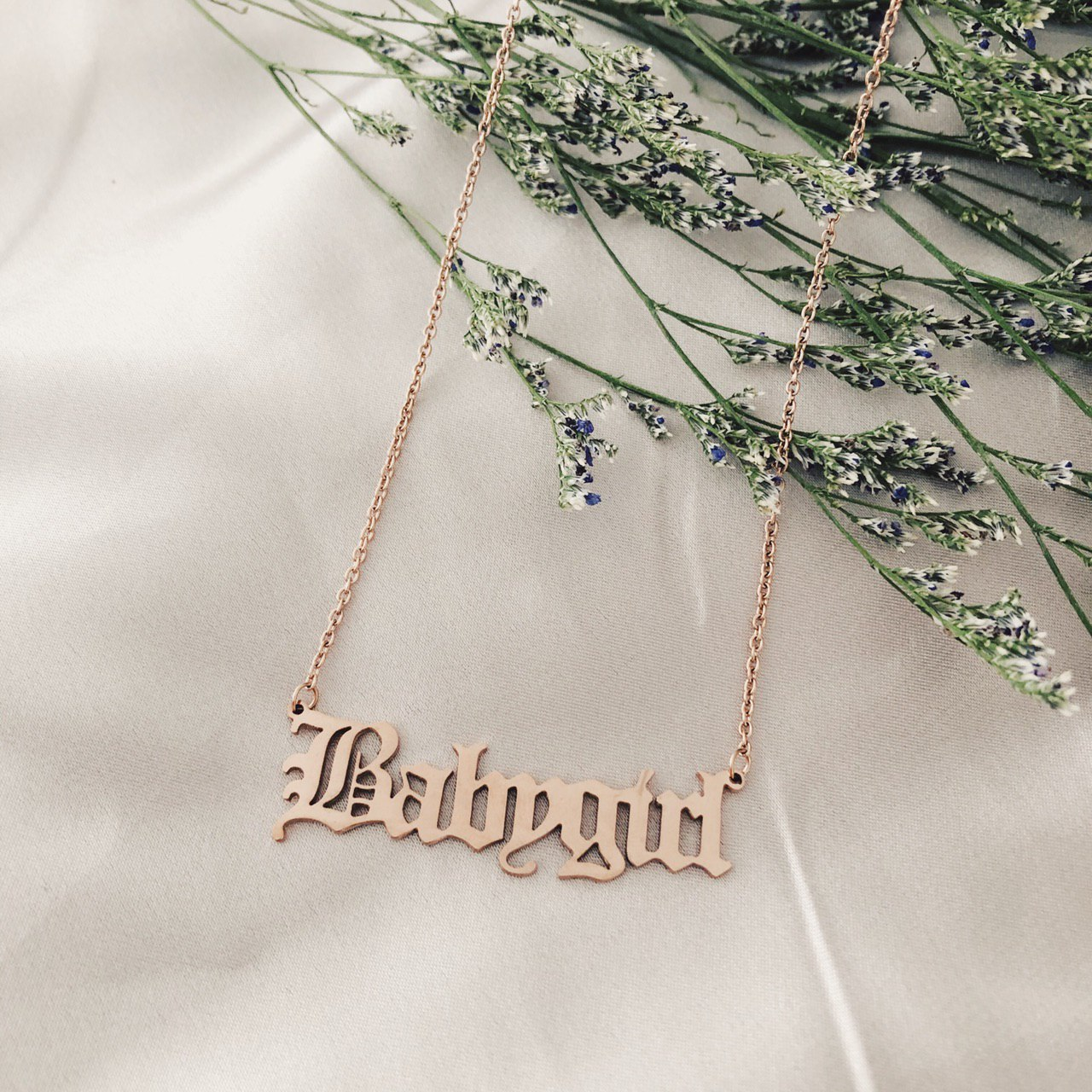 Babygirl necklace TheCloset101