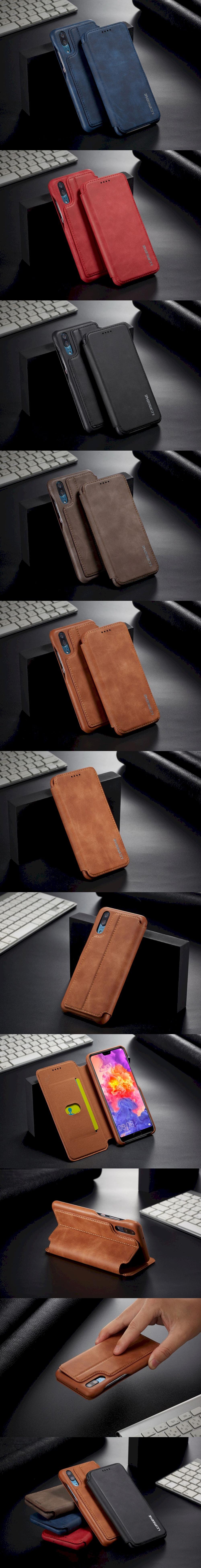 395-Huawei-微磁吸翻蓋單插卡手機套皮套