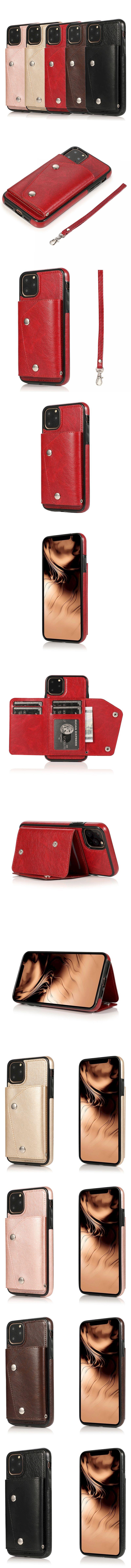 275-Apple-相片層插卡背蓋手機殼(含掛繩)(IPhone 11 Pro Max)