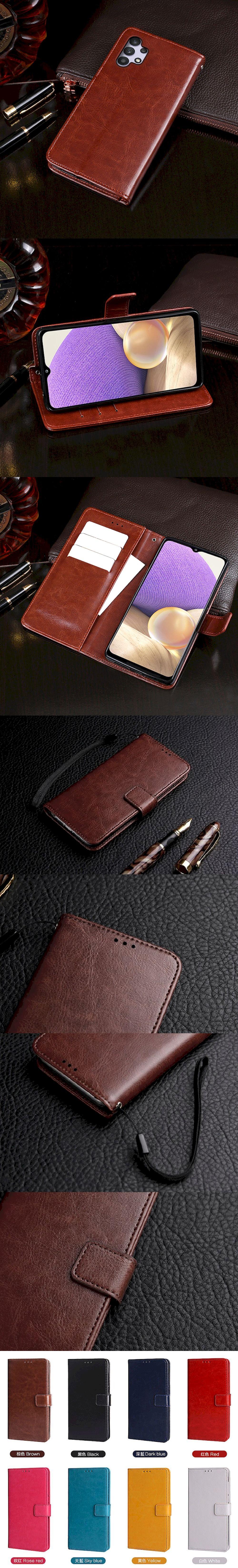 299-Samsung-扣帶左右翻蓋皮套(A32 5G)