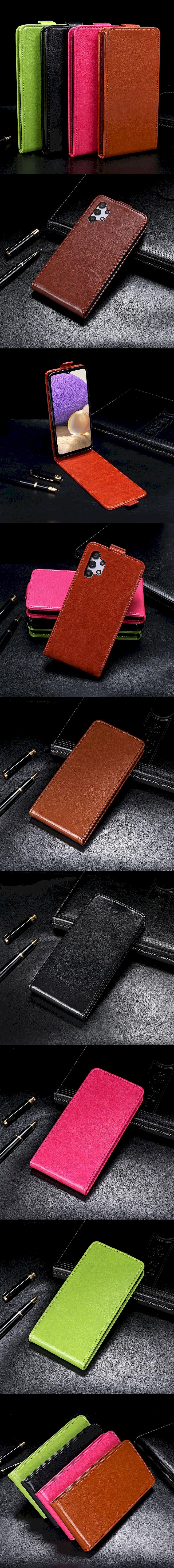 299-Samsung-扣帶上下翻皮套(A32 5G)
