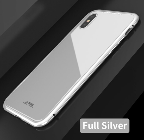 Magnetic-Adsorption-Flip-Case-for-iPhone-X-8-Plus-7-Plus-Tempered-Glass-Back-Cover-Luxury_Full Silver.jpg