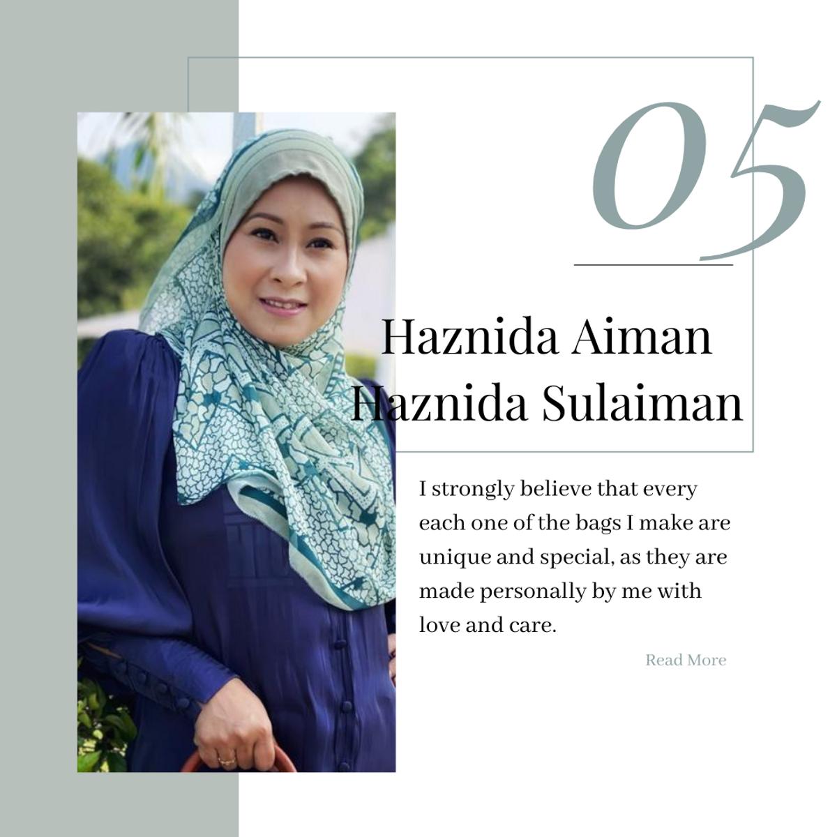 Pembuat Beg Tangan Malaysia - Haznida Aiman/ Haznida Sulaiman