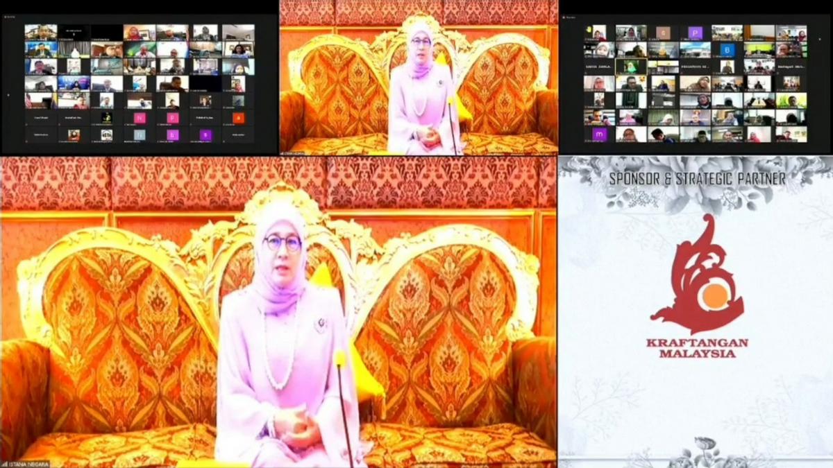 Video Pembukaan 100 kedai Di The Tunku Azizah Handmade Market (TTAHM) 2021
