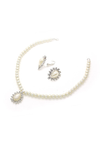 zaphira and p alexa bridal pearl jewellery crystal set