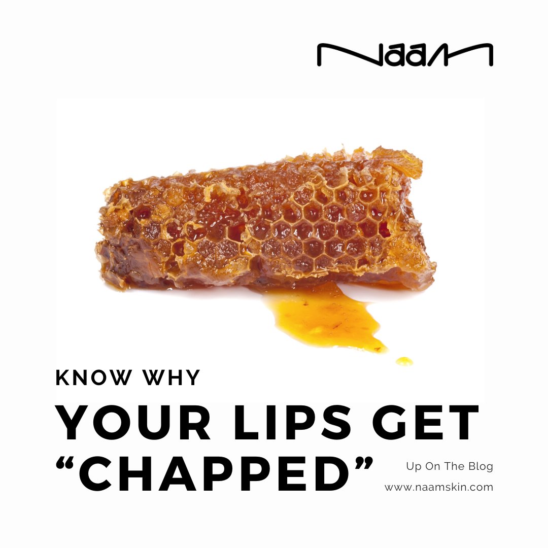"""Know Why Your Lips Get """"Chapped"""""""
