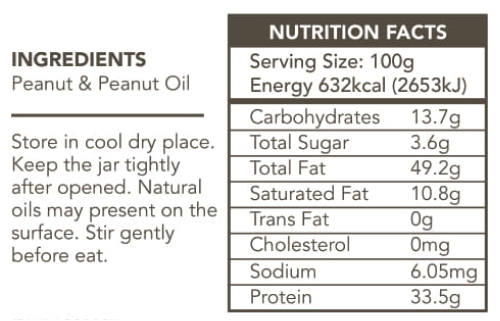 Nuttyland Peanut Butter CREAMY Label (NO SUGAR)-1-2-2 1.jpg