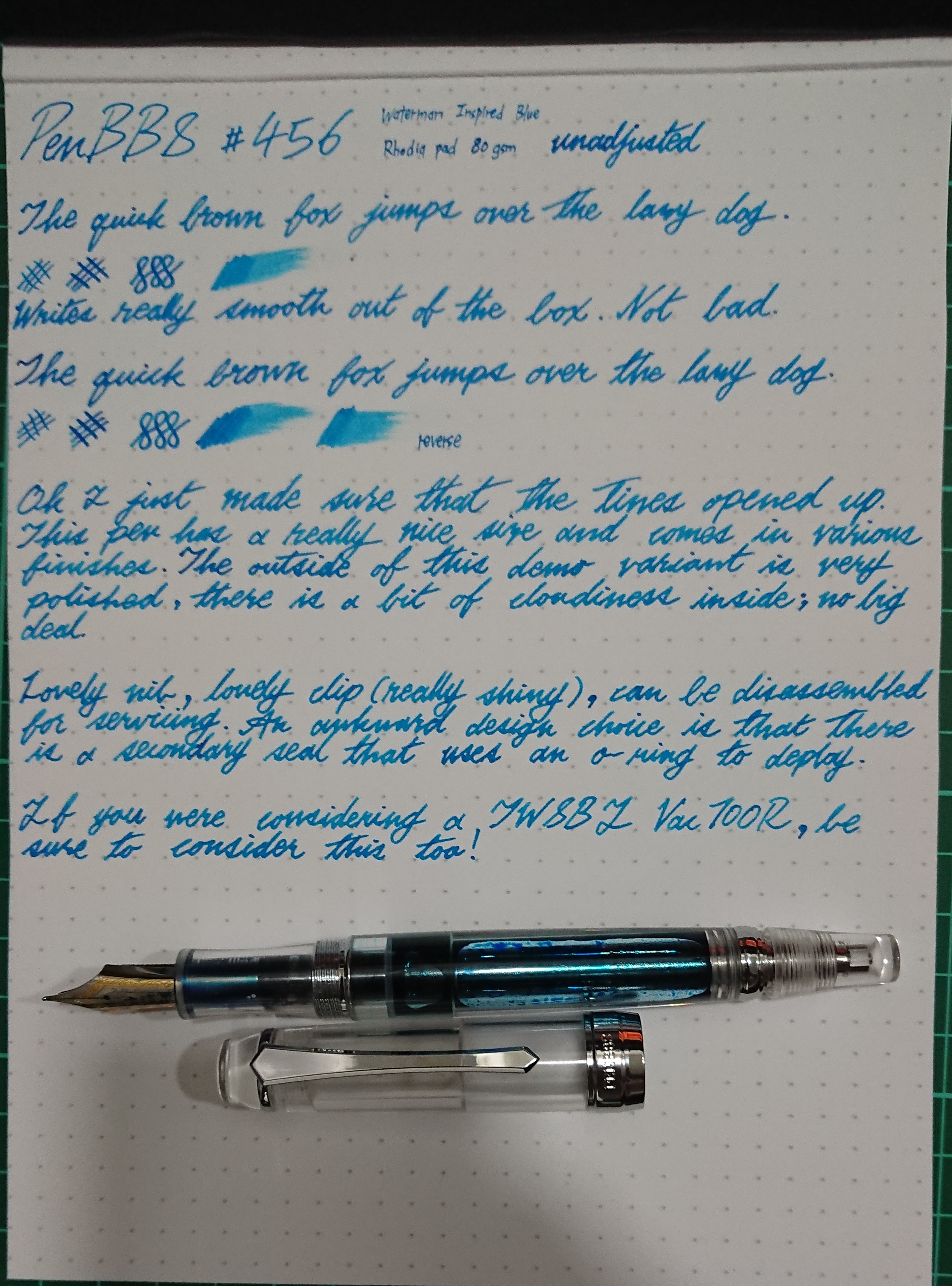 penbbs 456 writing sample