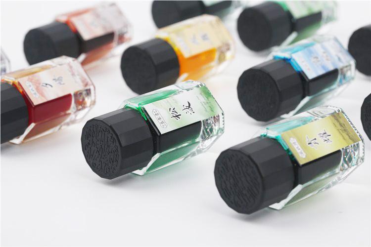 Shimmering Inks