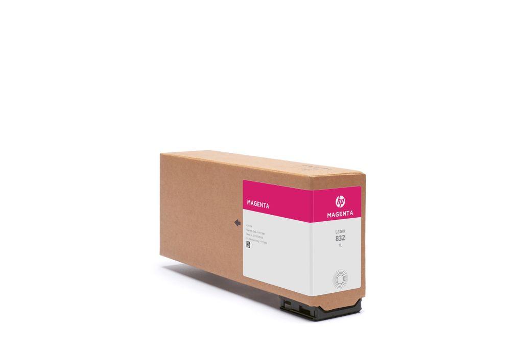 HP 832 1L Magenta Latex Ink Cartridge.jpg