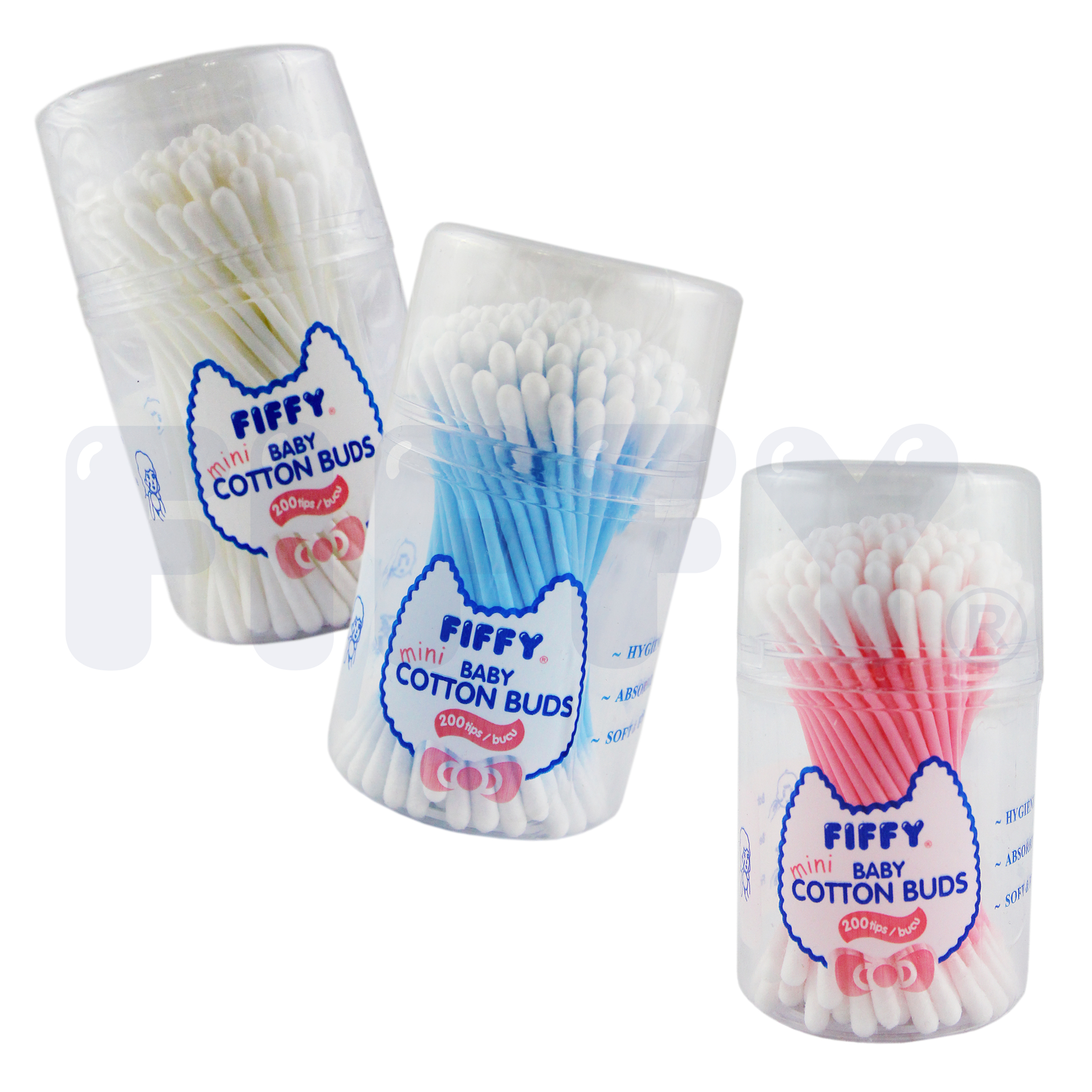 Fiffy Multi Purpose Mini Cotton Bud 200tips Fiffy Online One