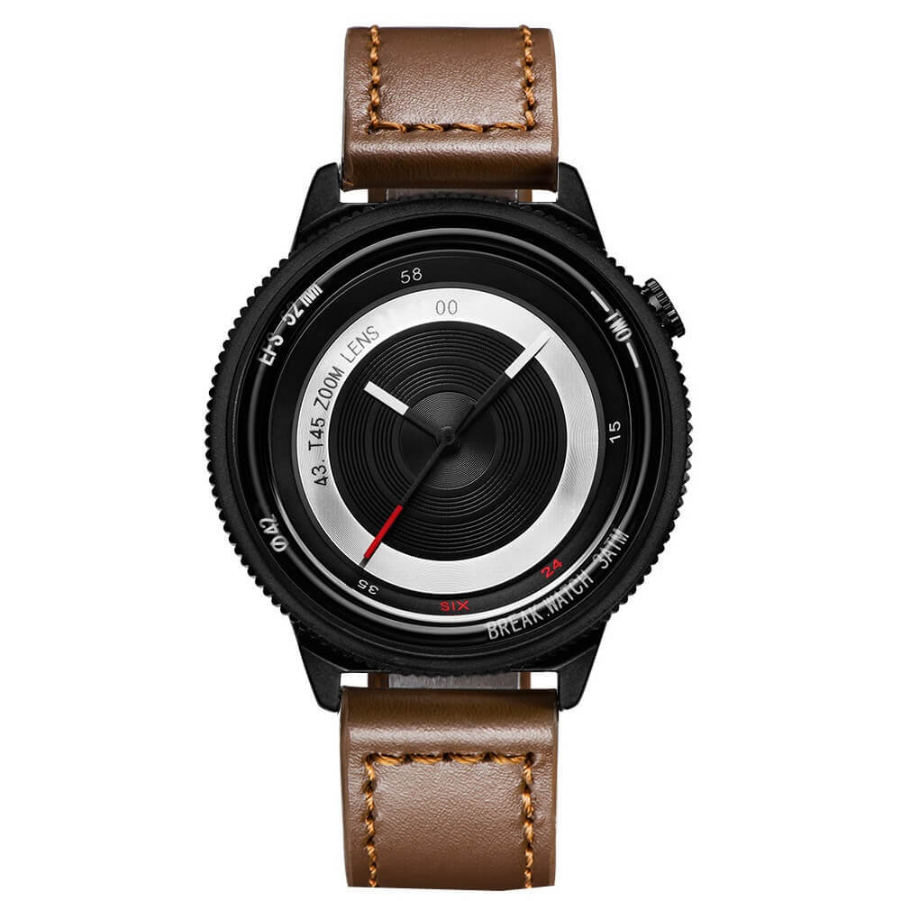 Lens Black Break Watches Brown Leather.jpg