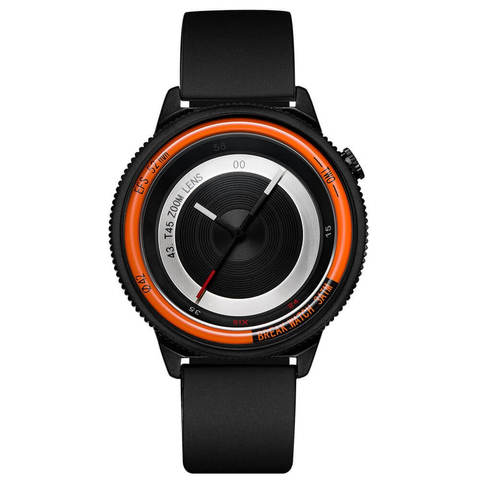 Lens Orange Break Watches Black Rubber Straps.jpg