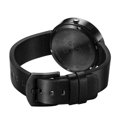 Basal Black Break Watches back case view.jpg