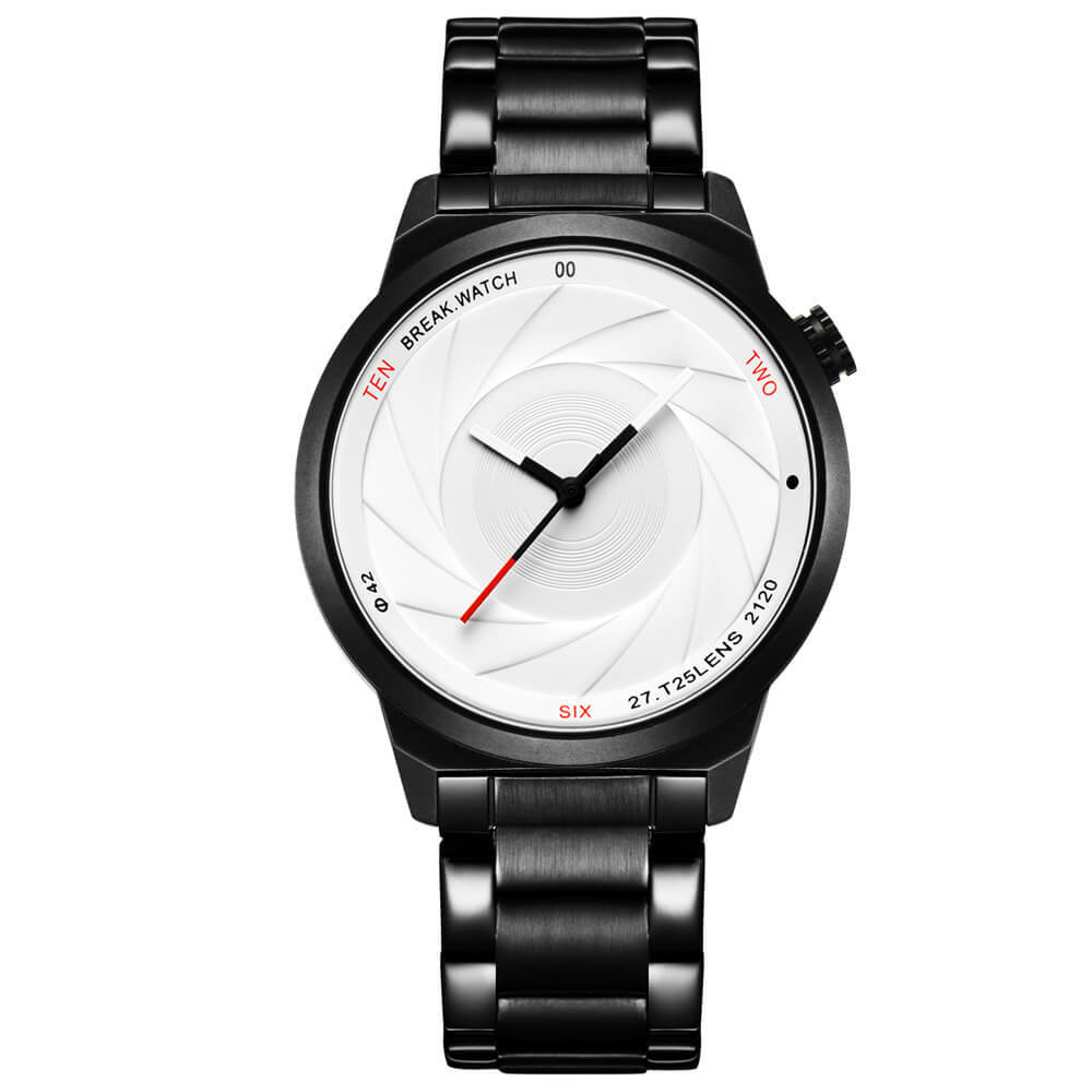 Zoom White Break Watches steel straps.jpg