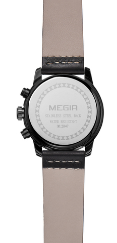 Cosmo Megir Watches Black Dial Black Leather (4).jpg