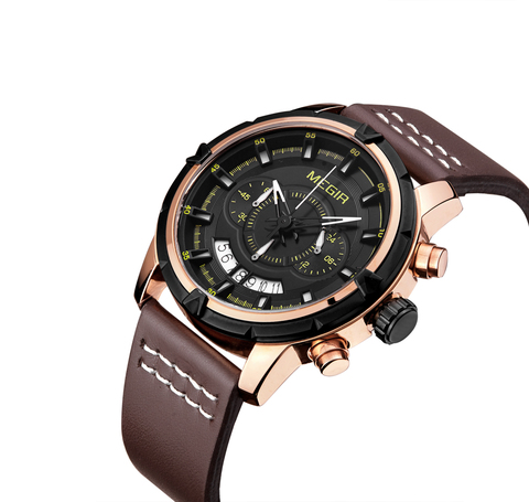 Cosmo Megir Watches Gold Case Brown Leather (2).jpg