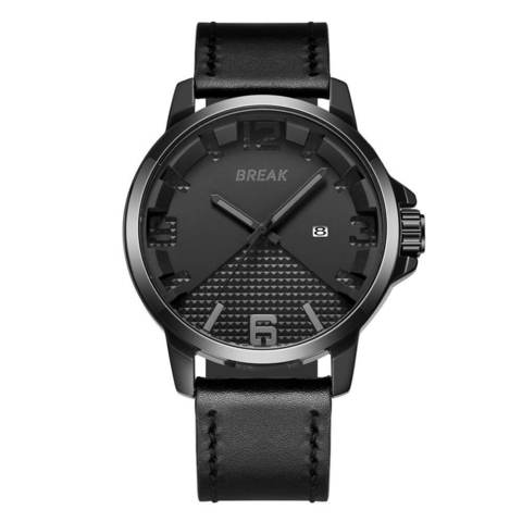 Loki All Black Design Black Leather Straps.jpg