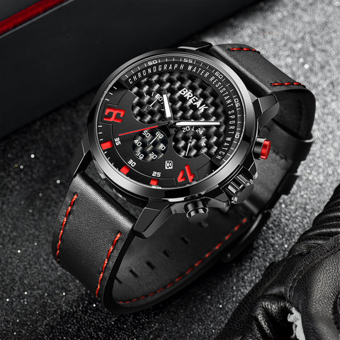 Loki Chrono Black Dial Red Pointer (4).jpg