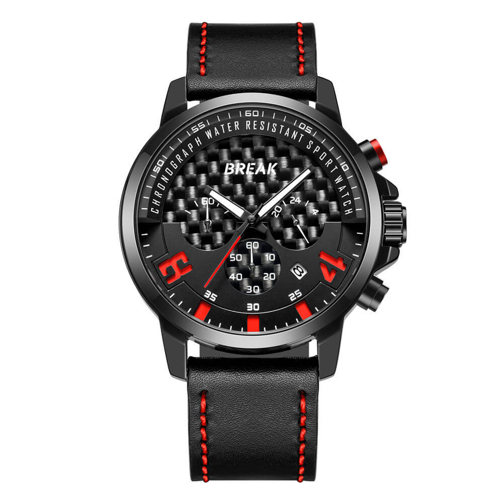 Loki Chrono Black Dial Red Pointer Black Leather.jpg