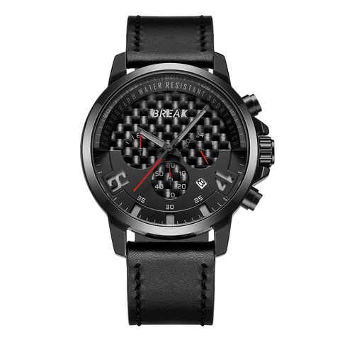 Loki Chrono Black Dial Red Needle Black Leather.jpg