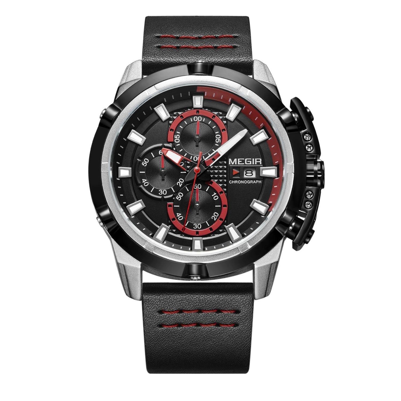 Hunter Red Chronograph Megir Watches (3).jpg