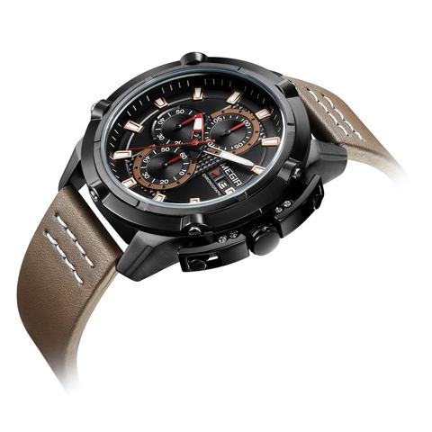 Hunter Brown Chronograph Megir Watches (1).jpg