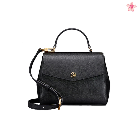 23bc6b1b22e96 Tory Burch Robinson Top-Handle Satchel Bag