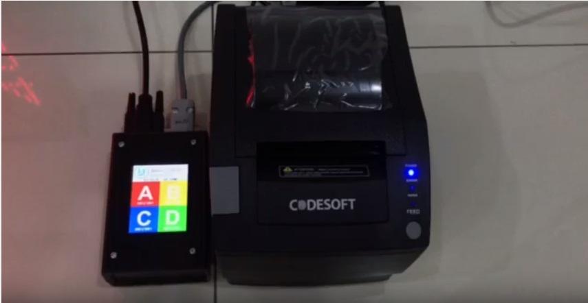QMS Printer ( Touch screen )