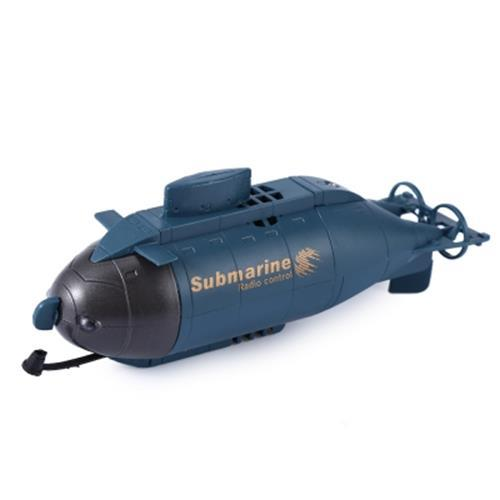777 - 216 WIRELESS 40MHZ REMOTE CONTROL MINI SUBMARINE PIGBOAT MODEL TOY (SAPPHIRE BLUE)