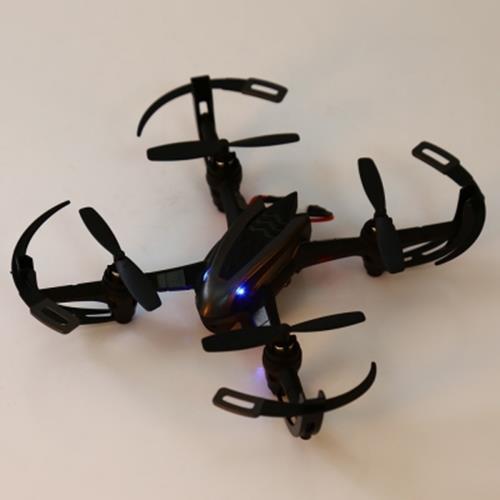 I DRONE I4S 2MP CAMERA 2.4GHZ 4 CHANNEL 6 AXIS GYRO QUADCOPTER 3D ROLLOVER RTF VERSION (BLACK)