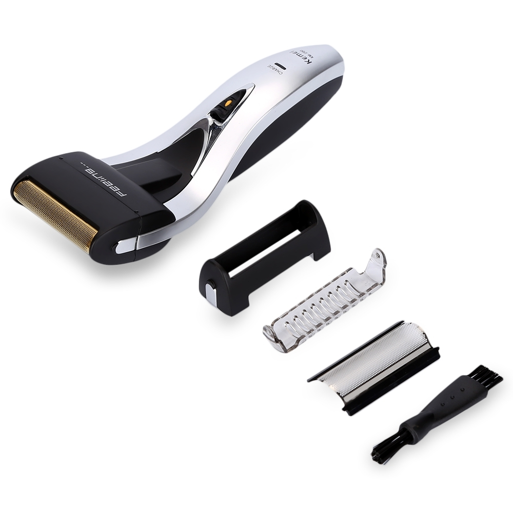 KEMEI KM - 1720 RECHARGEABLE RECIPROCATING CORDLESS BLADE (WHITE AND BLACK)